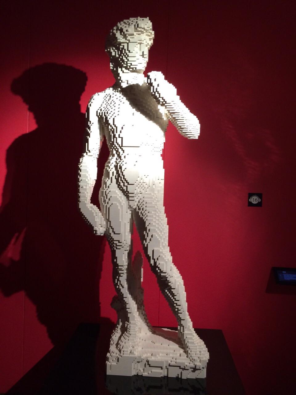 The Art of the Brick _ David