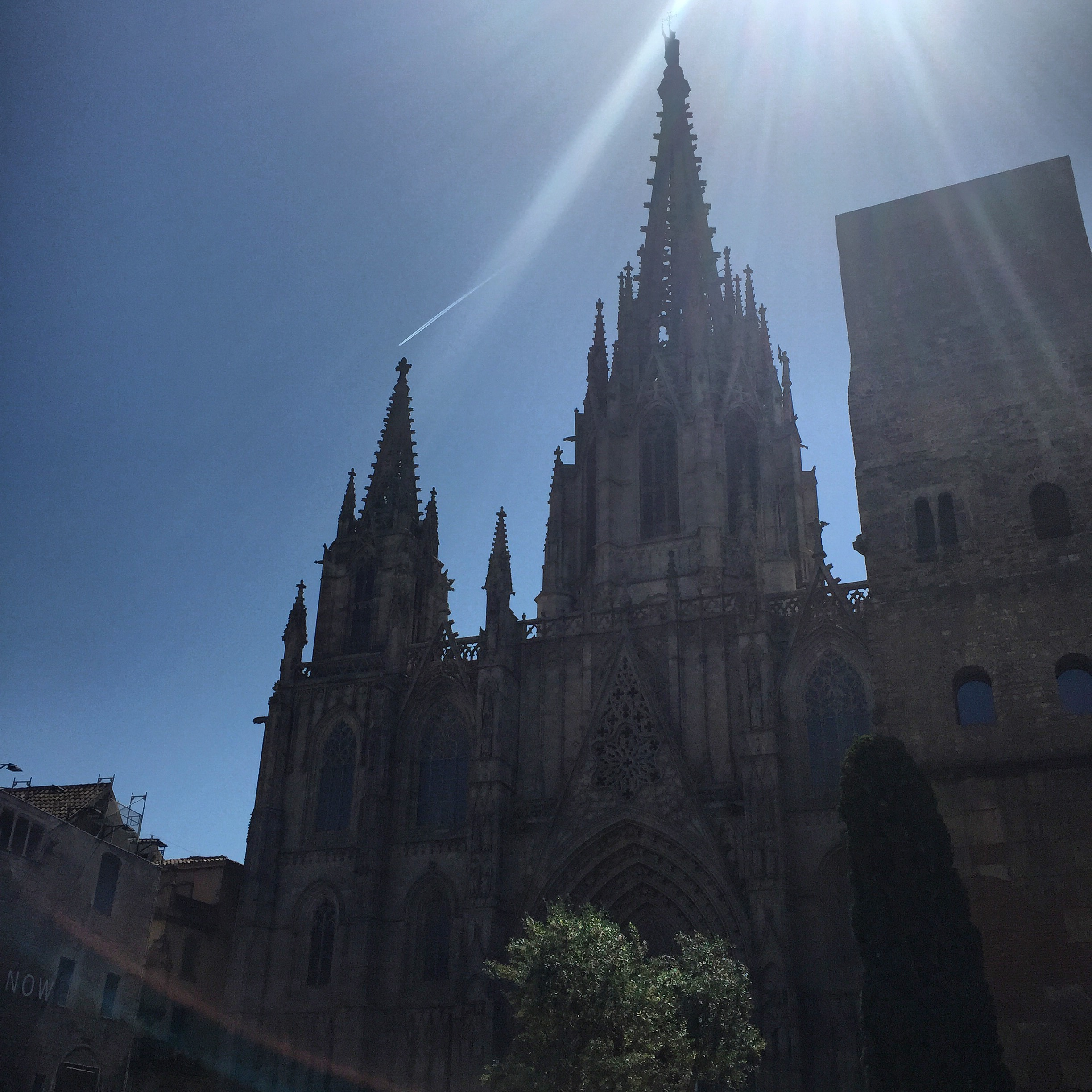 La Catedral on a good no filter day.