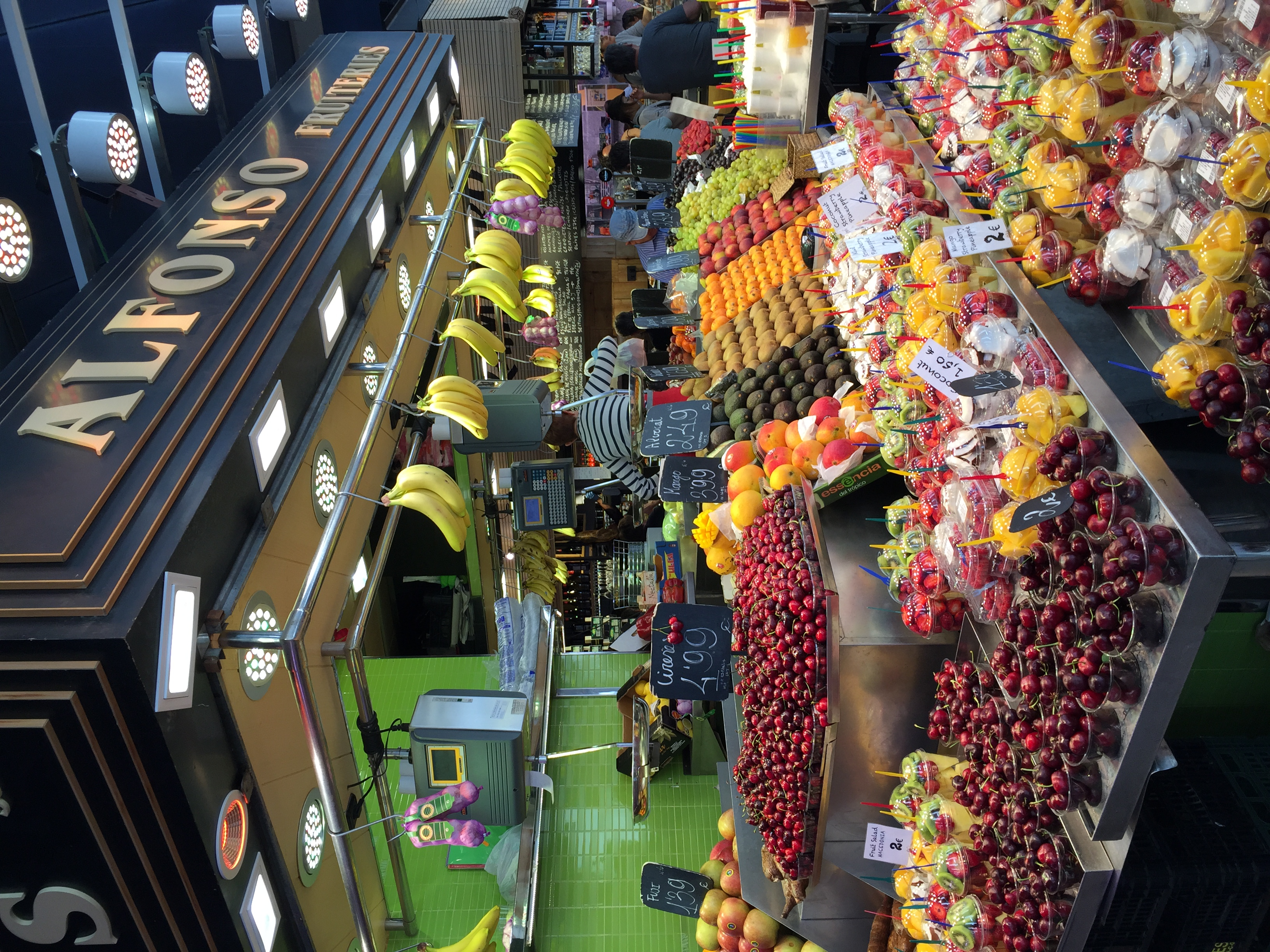 Colors at La Boquería.
