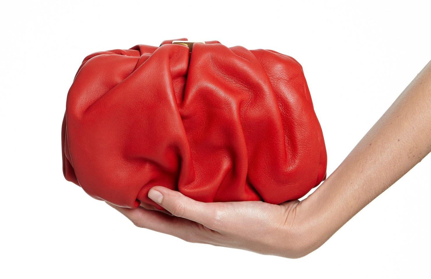Nice soft leather makes all the difference in the Gracia clutch.