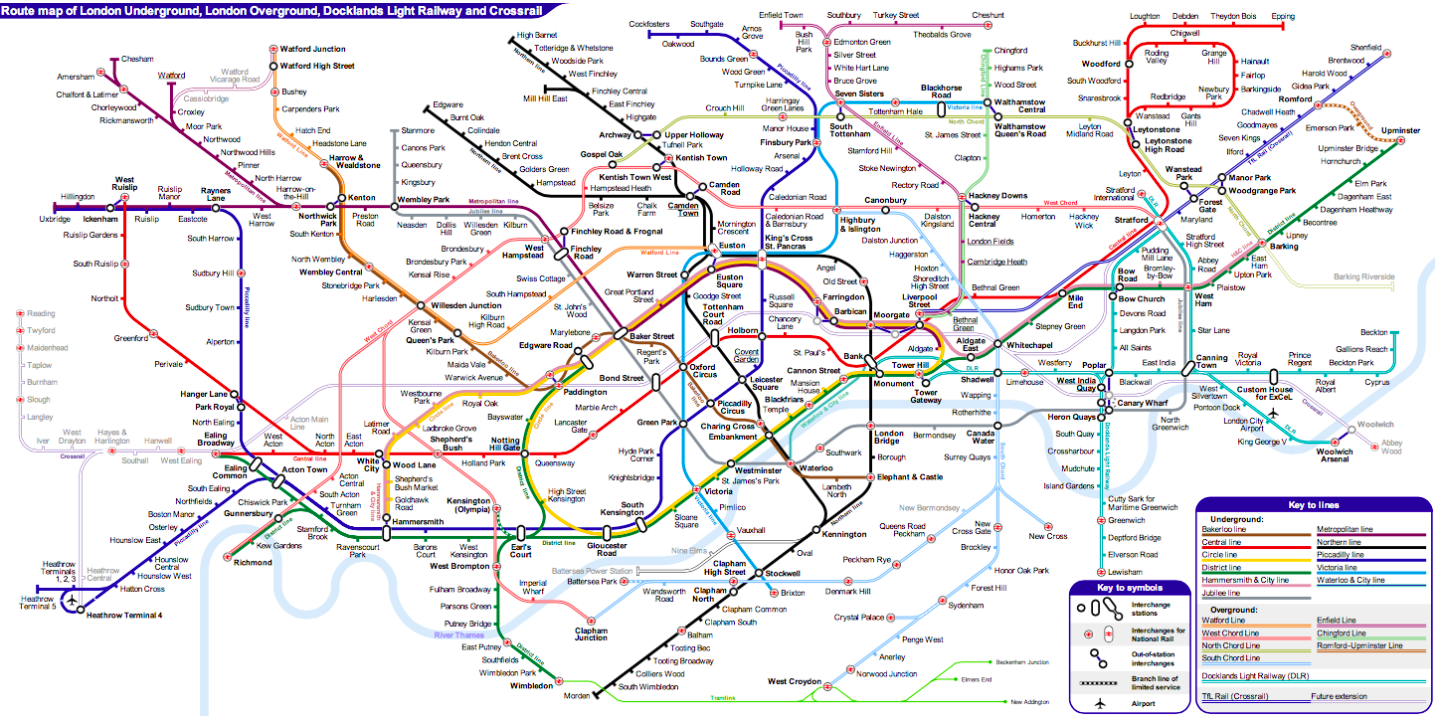London Tube Map Reviewed