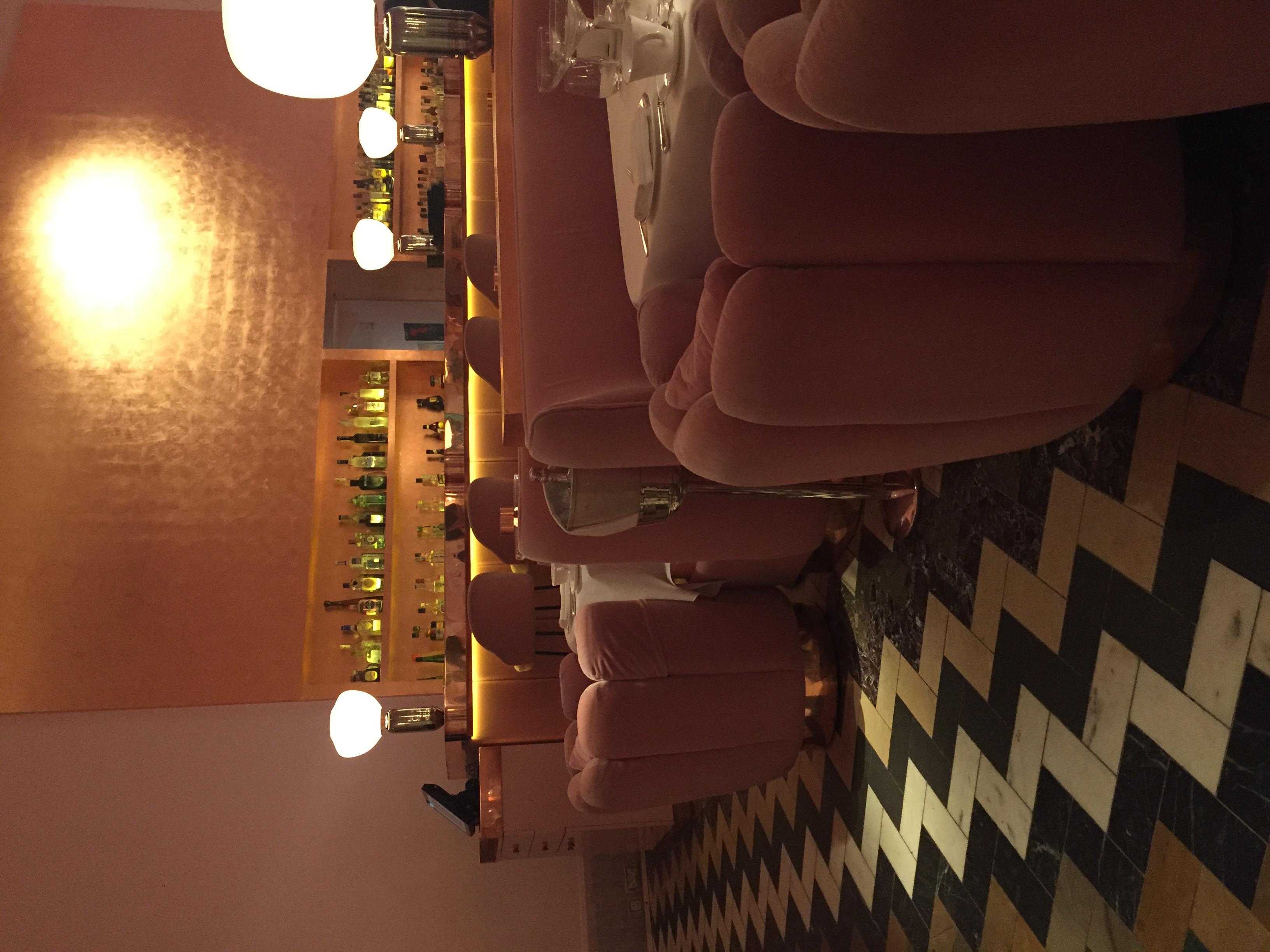 Sketch London's Tea Room. Love the pinks!