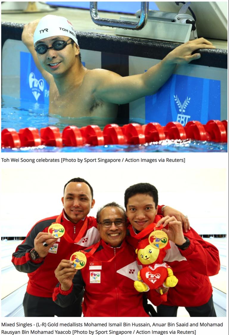 8th ASEAN Para Games, ActiveSG (www.myactivesg.com)