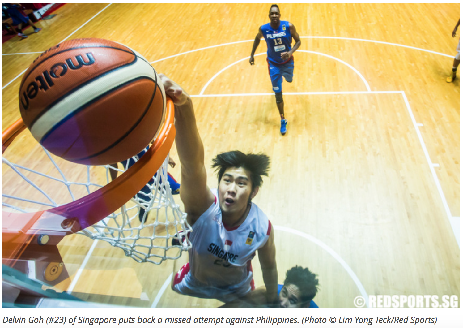 11th Southeast Asian Basketball Association Championship for Red Sports (www.redsports.sg)