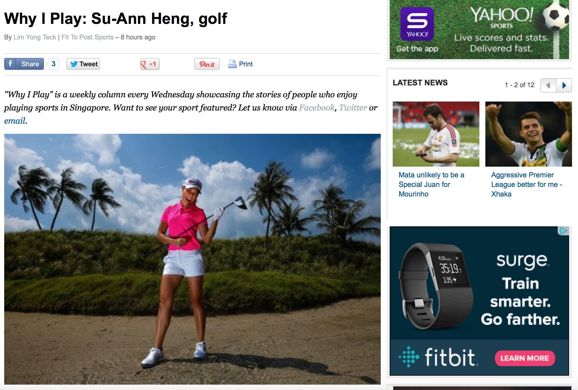 Su-Ann Heng feature for Yahoo! (www.yahoo.com)