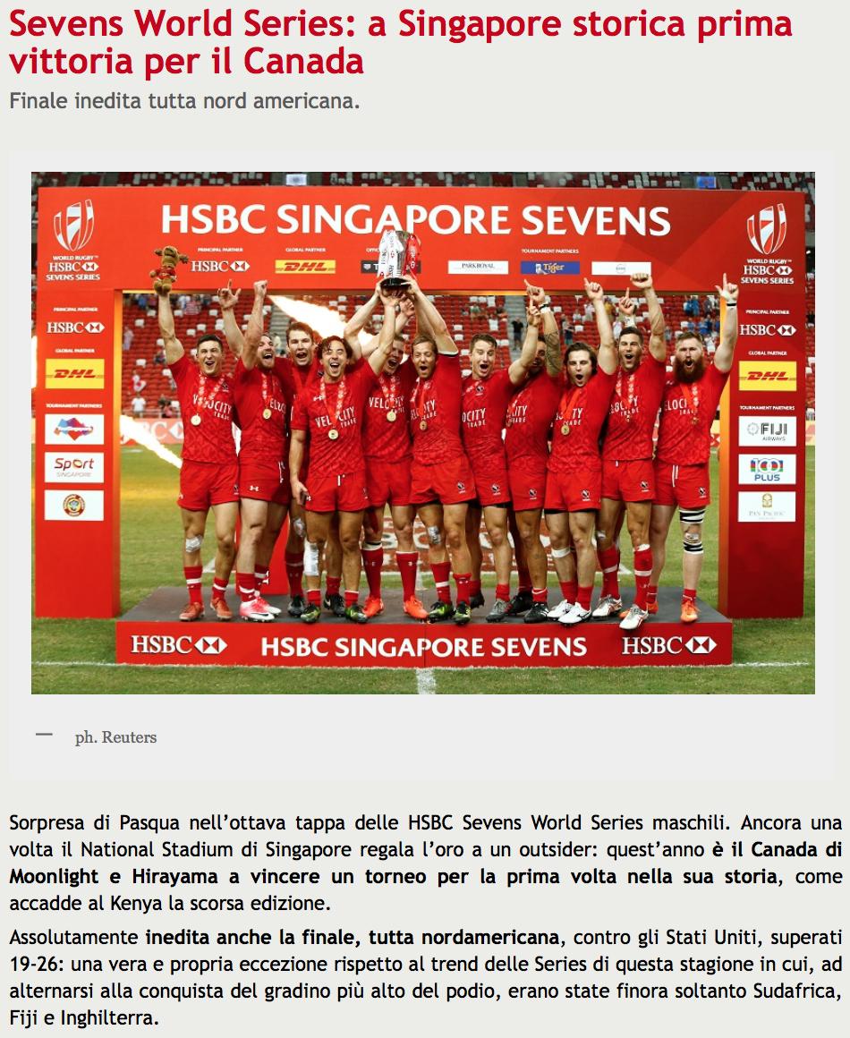 HSBC Singapore Sevens for Reuters (pictures.reuters.com)