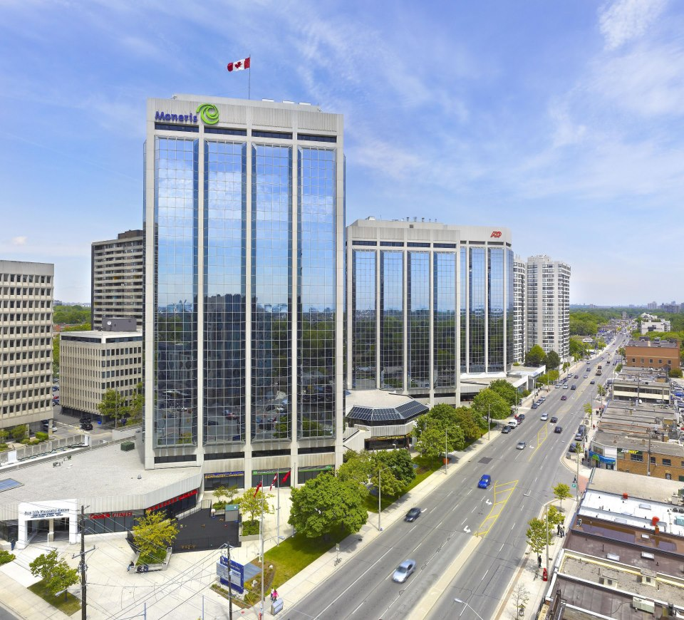 Tri-D Technologies head office, located 3250 Bloor Street West (6th floor, East tower) in Toronto Canada.