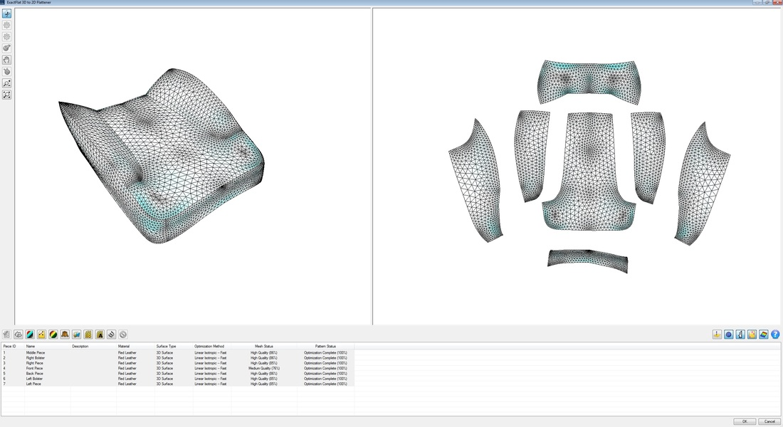 ExactFlat for SolidWorks - 3D to 2D Flattener