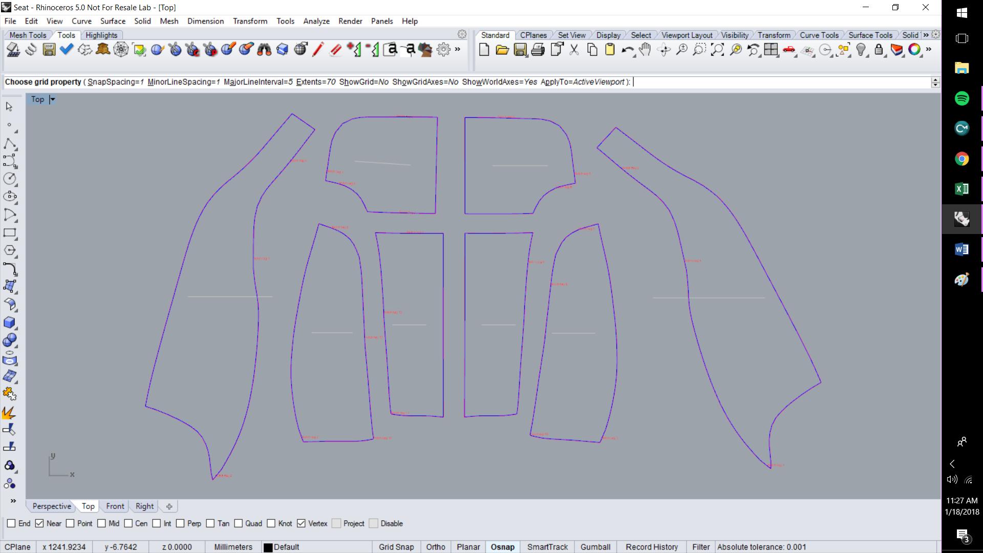 ExactFlat For Rhino - DXF Outline