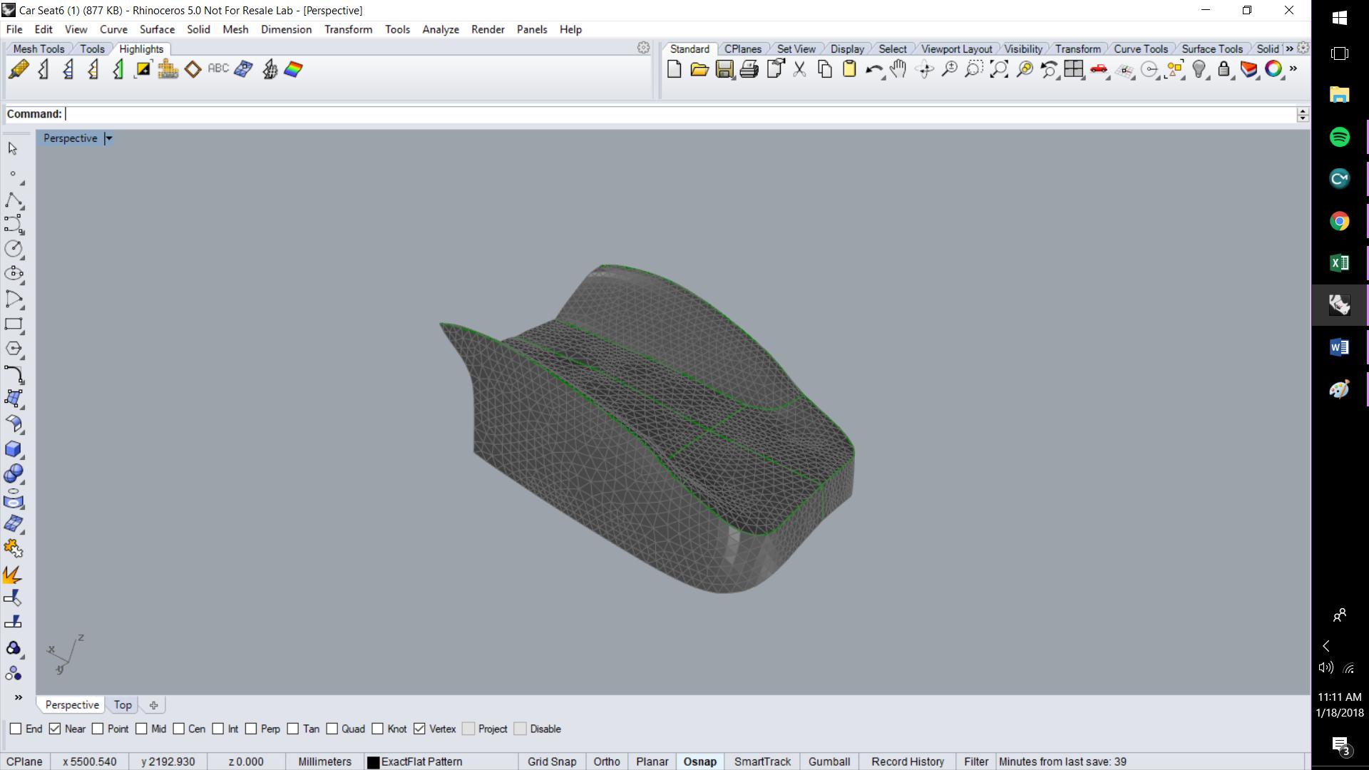ExactFlat For Rhino - 3D Model