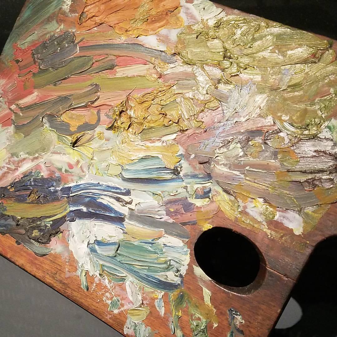 Vincent Van Gogh's palette