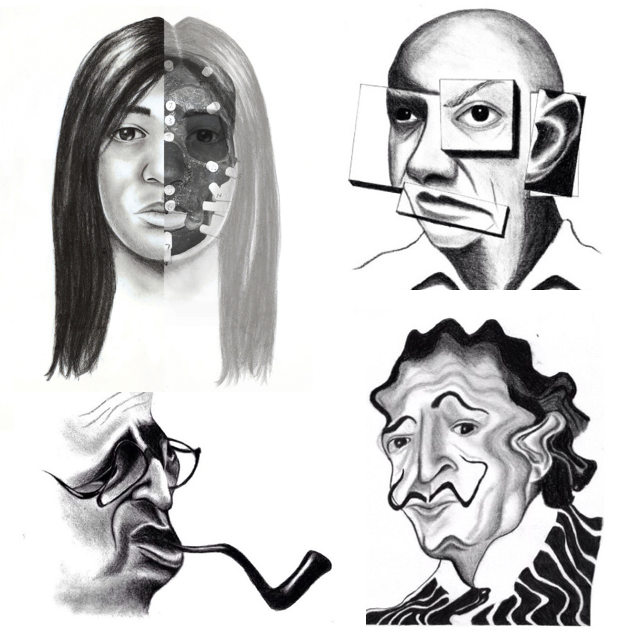 NOW AVAILABLE!   Limited Edition Prints: La Brea Woman, Salvador Dali, Pablo Picasso andJean-Paul Sartre. Signed and numbered.