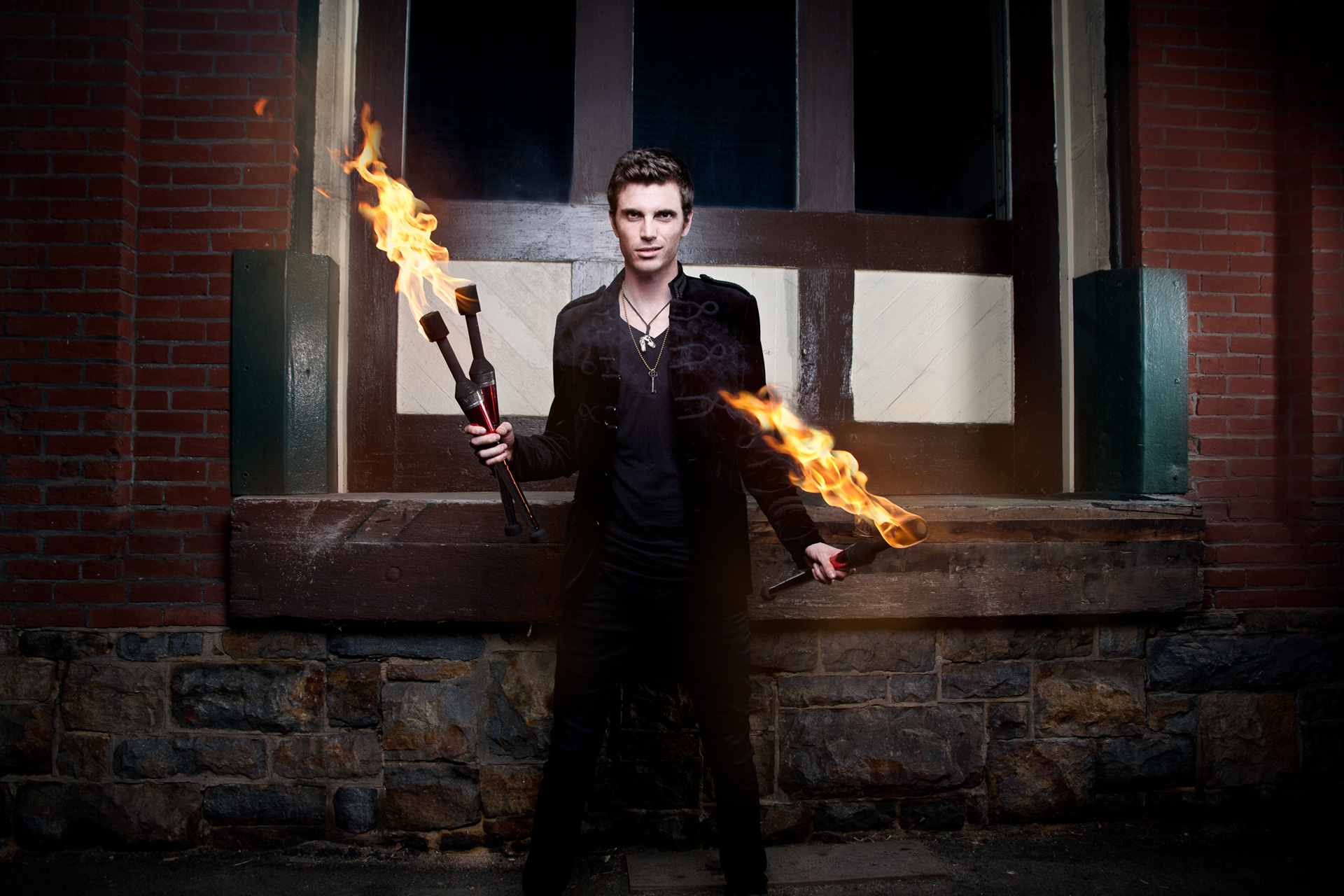 Chris Ruggiero Fire promo photo