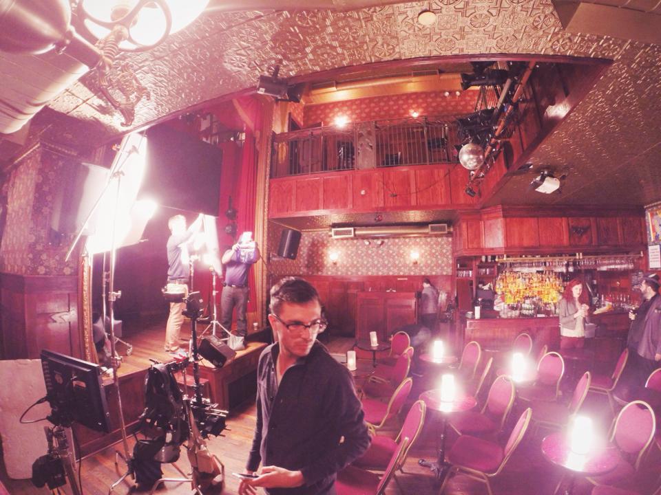 On a movie setin NYC