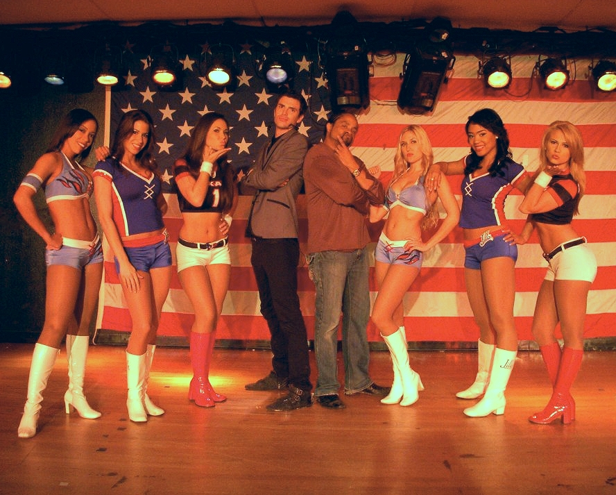 On tour with NFL Cheerleaders