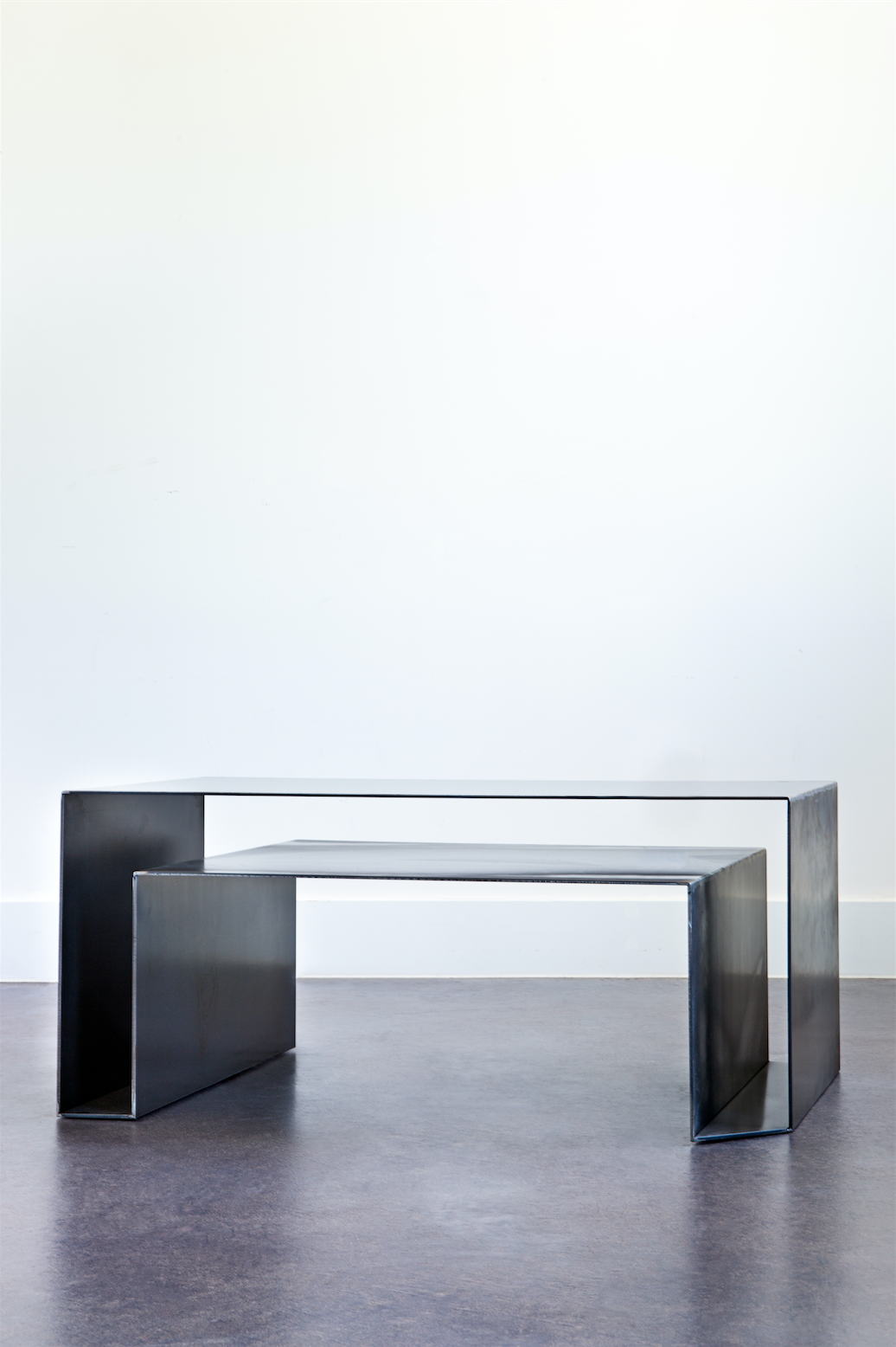 STEEL COFFEE TABLE