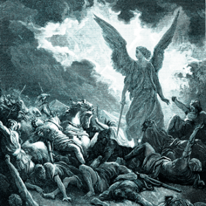 Destruction of the Army of Sennacherib by the Angel of the Lord