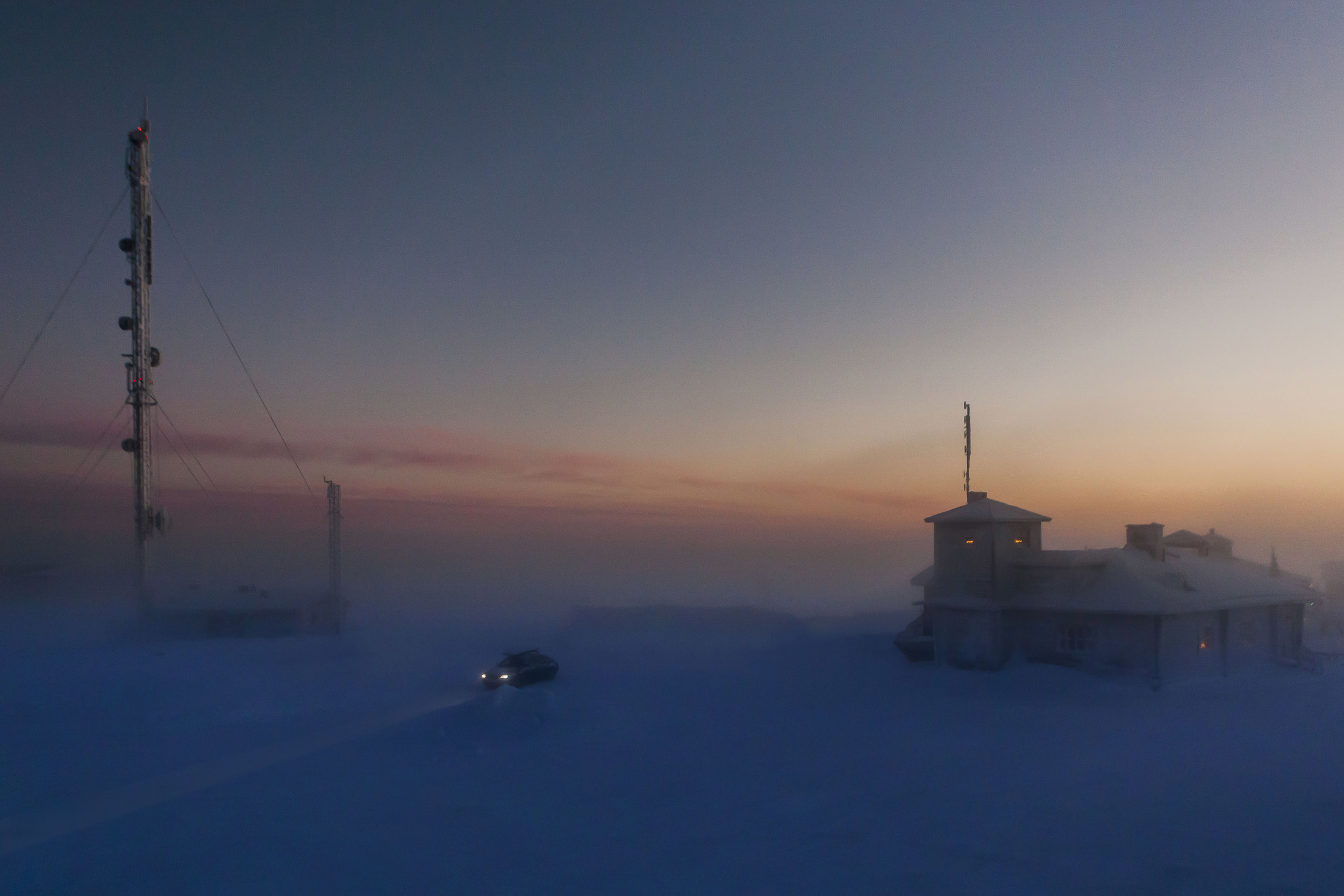 Power Station in Arctic Finland