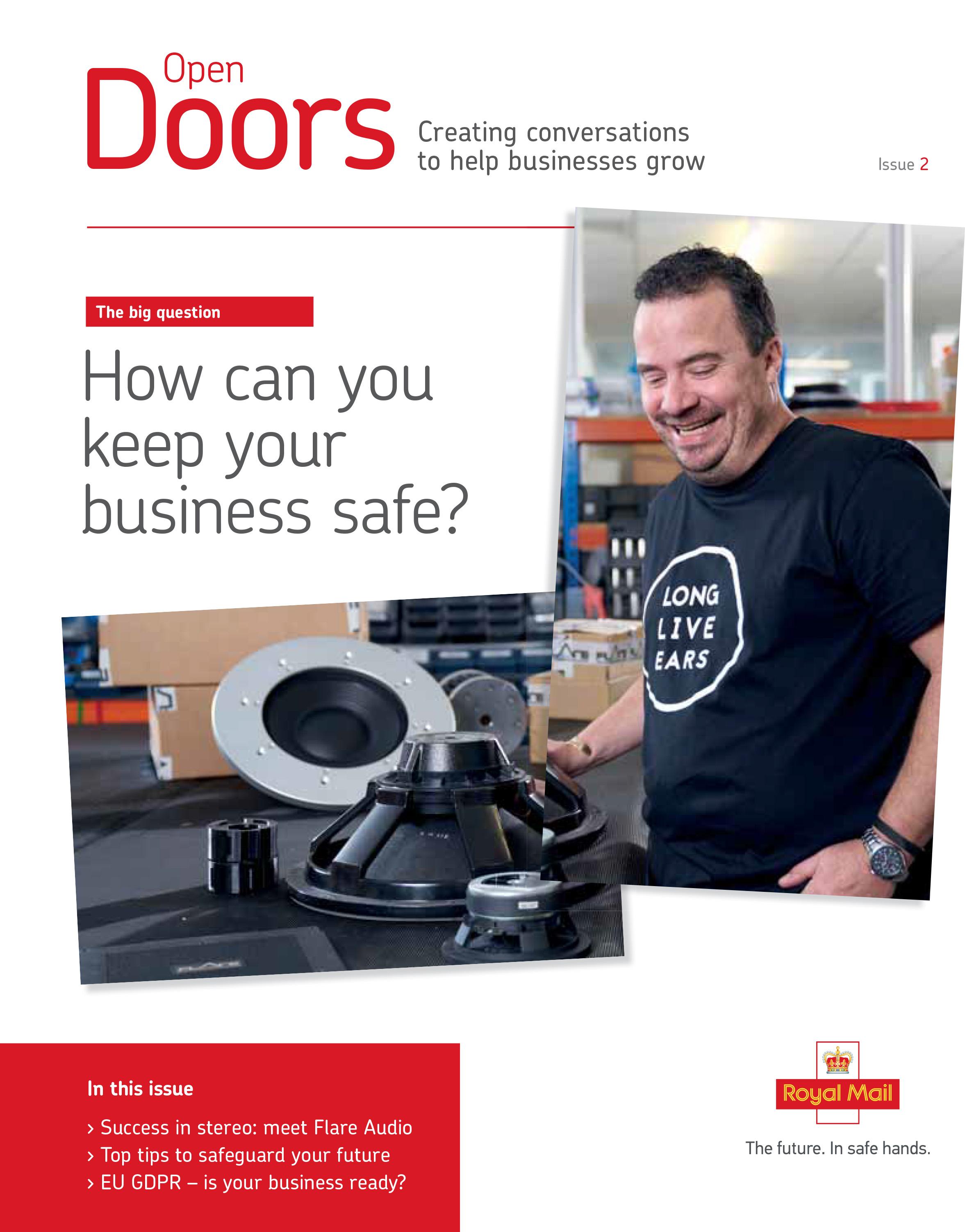 Open Doors Magazine - Creating conversations to help businesses