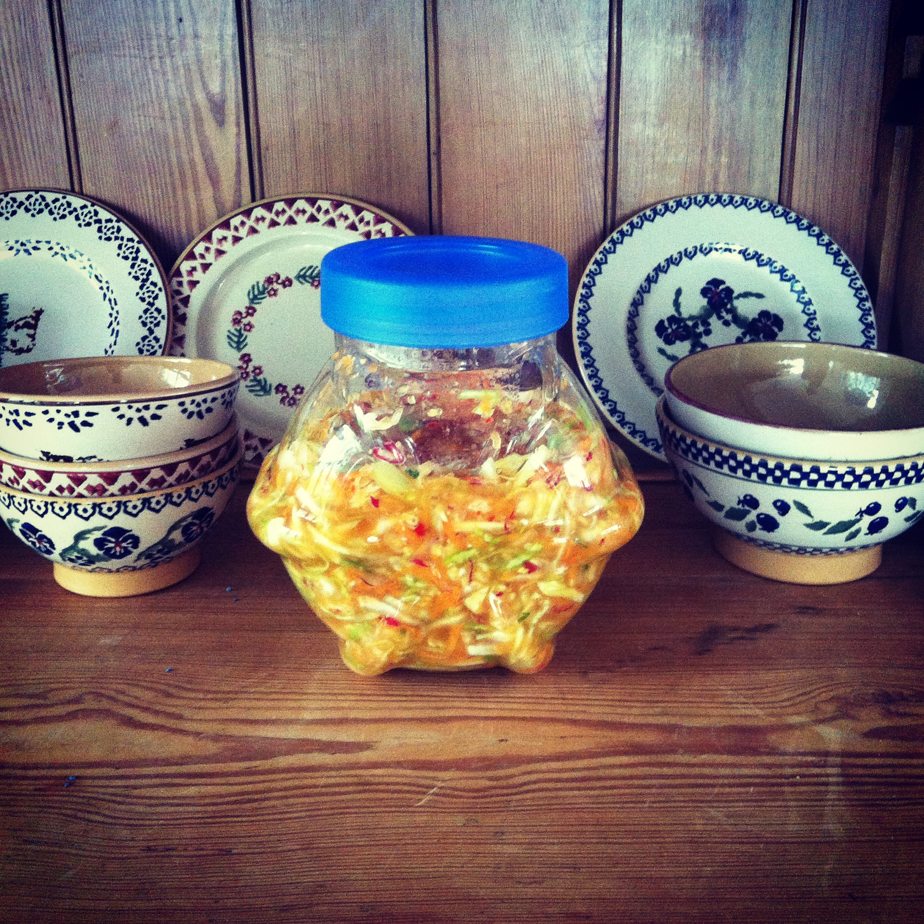 Our homemade kimchi