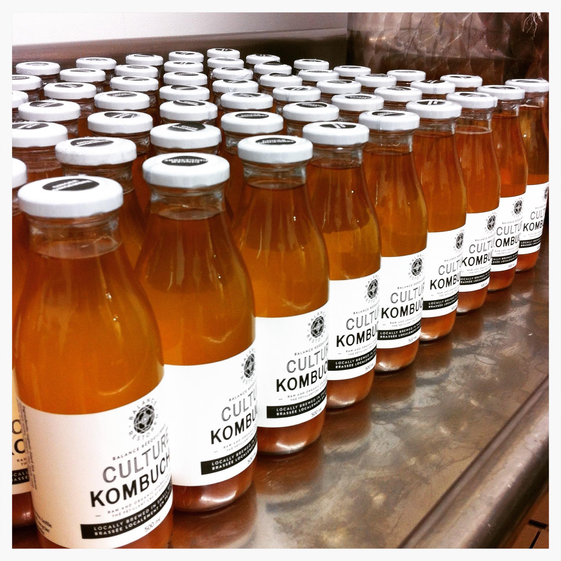 A local gem.Culture Kombucha is brewedand bottled inOttawa.