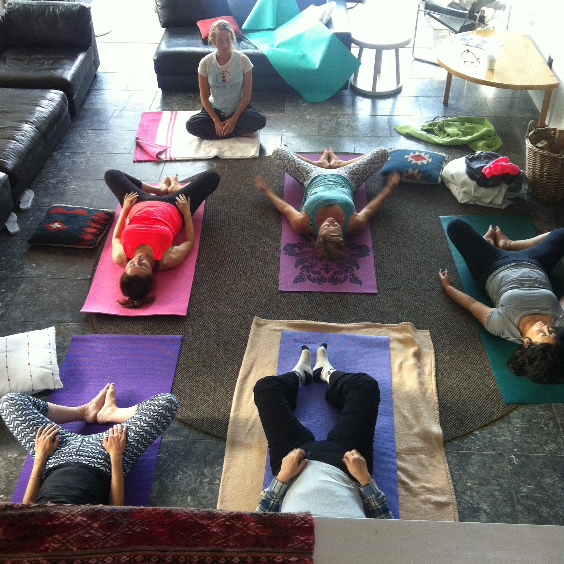 Yoga Practice At Linden House