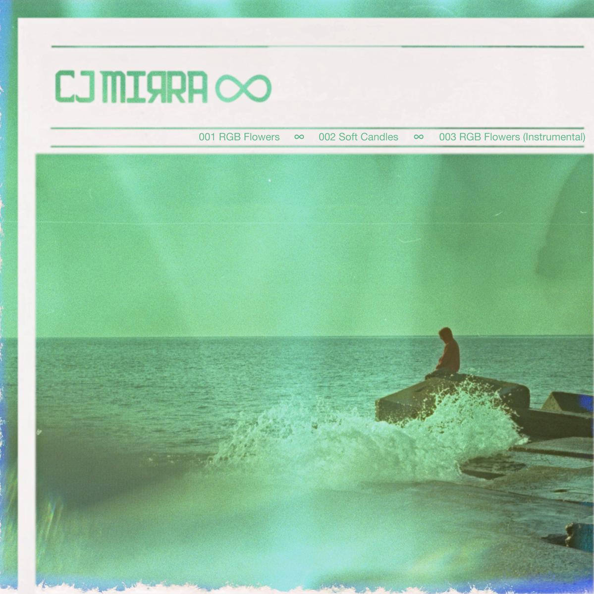 CJ MIRRA - RGB FLOWERS / SOFT CANDLES EP COVER ART