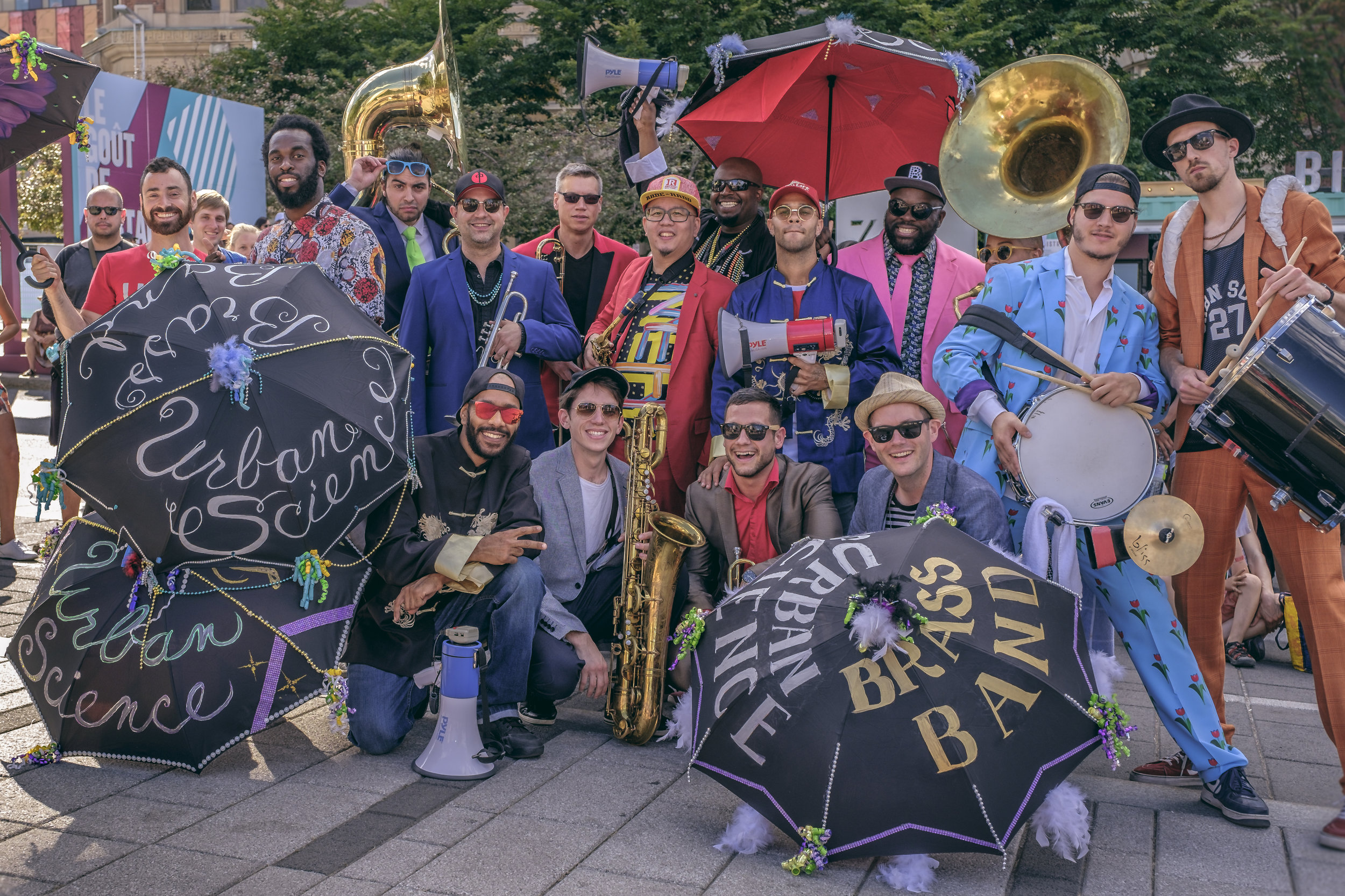 URBAN SCIENCE BRASS BAND