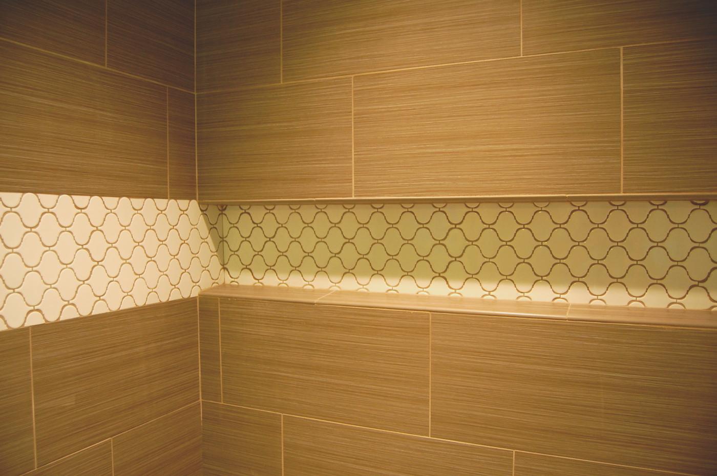 After (Tile Work in Master Suite)