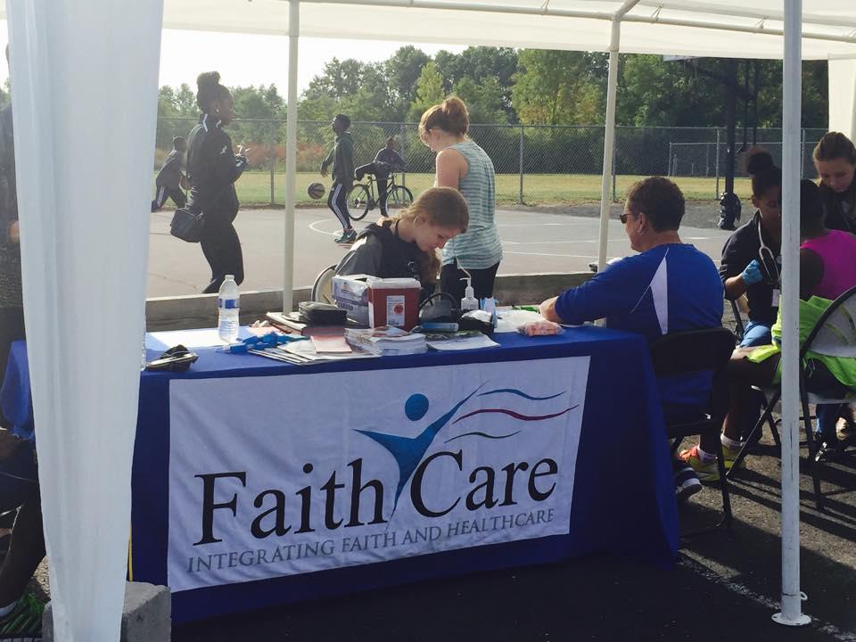 Connecticut chapter community health fair.