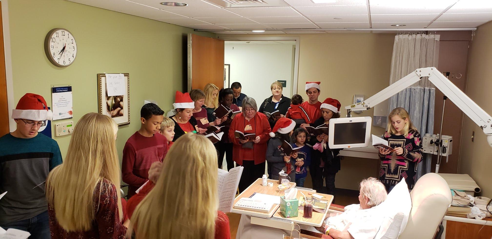 Christmas Caroling- Reading, PA