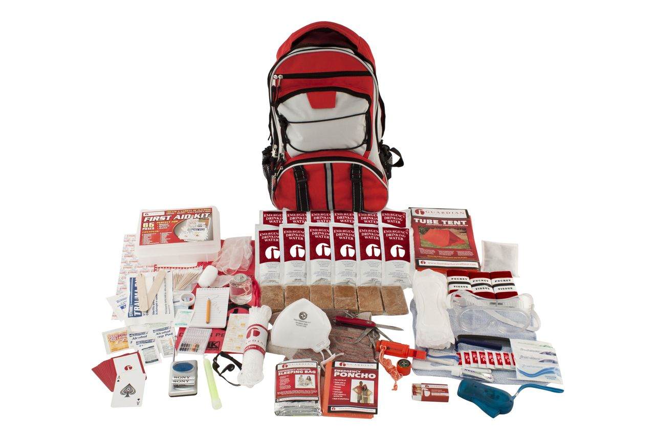 Our Single Person Elite Emergency Kit