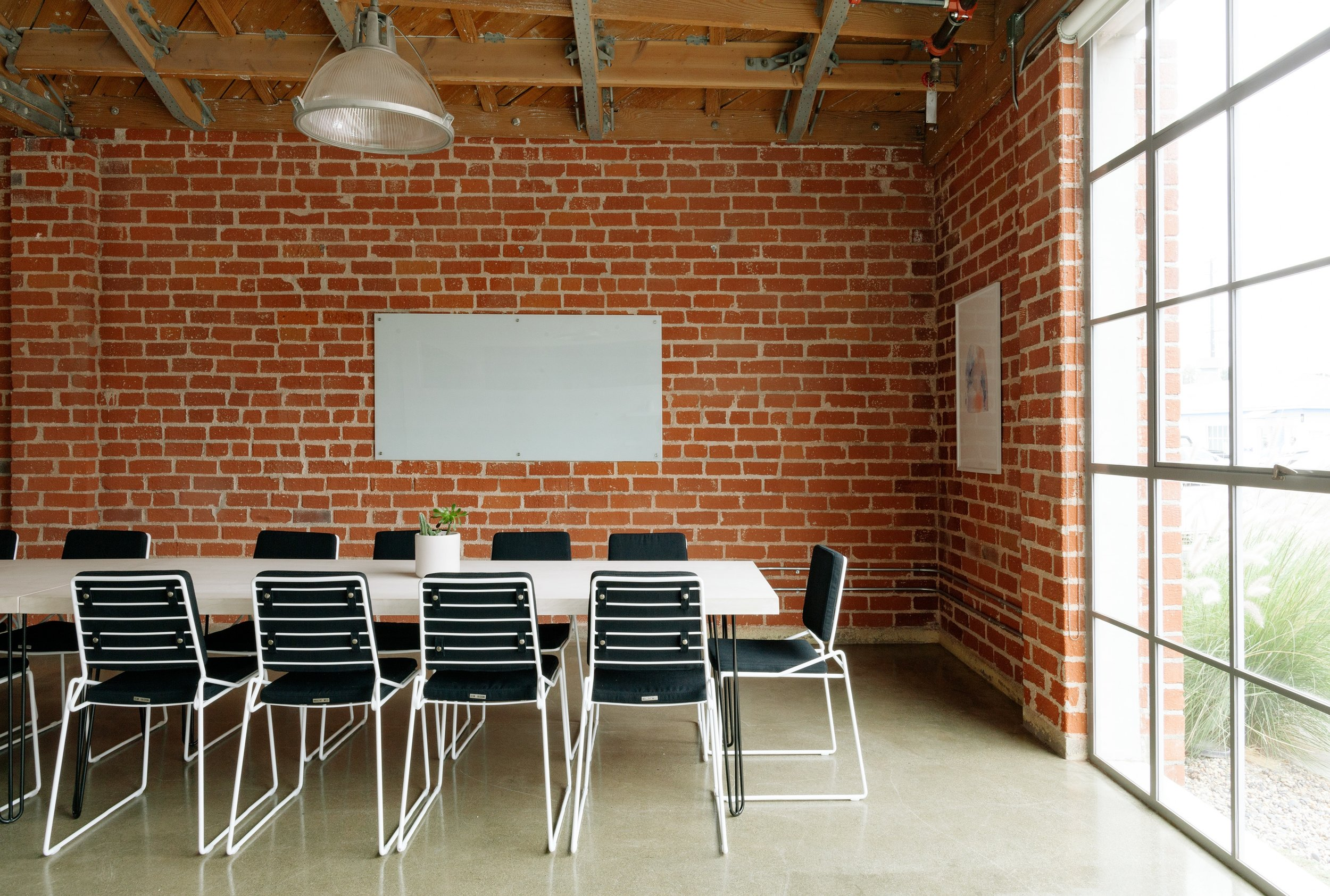 This boardroom can double as a shelter room!