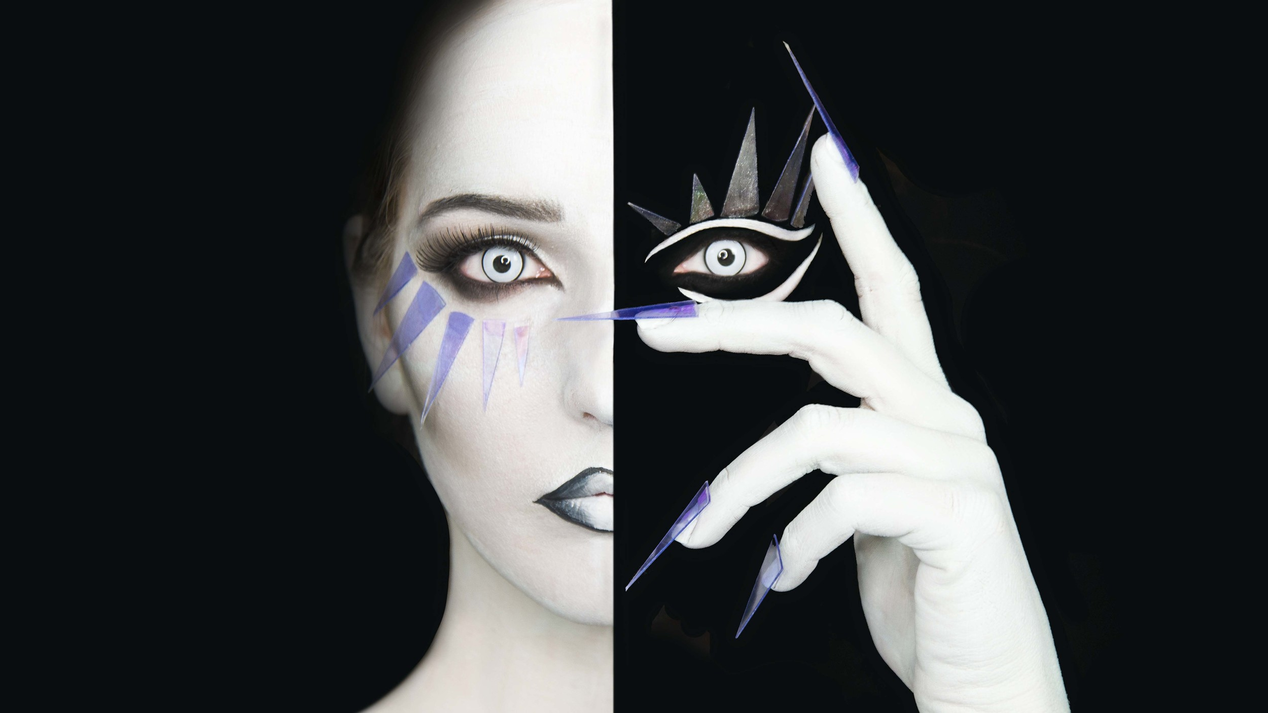 A tutorial of face paint as well as photoshop.
