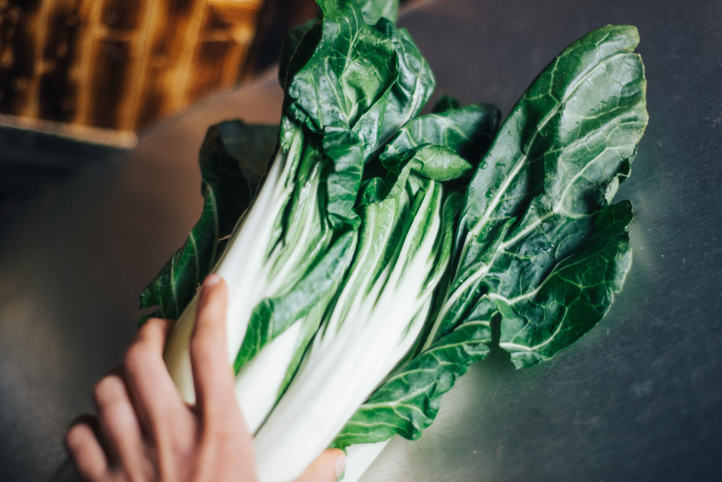 Bok Choy - my favorite way to use Choy is in my homemade recipe, Bok and Bonzos