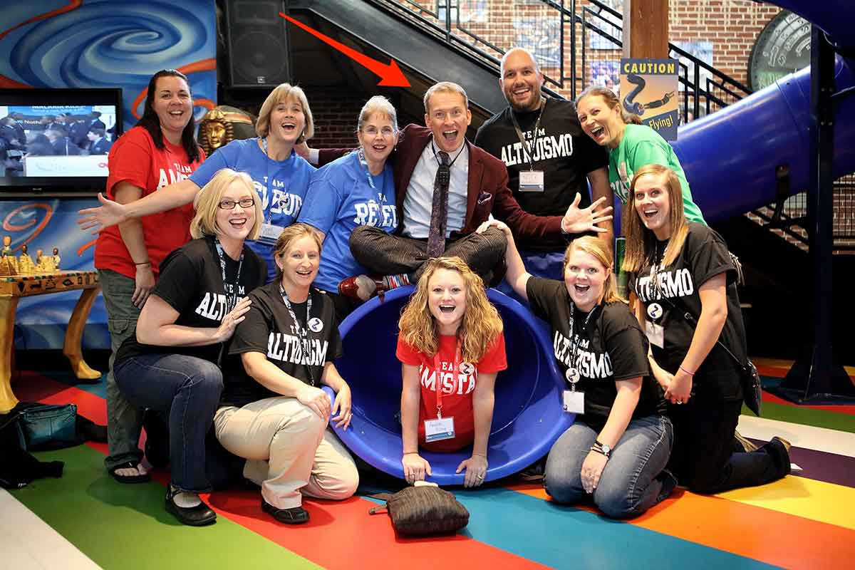 Used with permission from the Ron Clark Academy