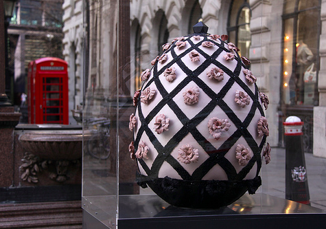 Faberge Big Egg Hunt 2012 in collaboration with Ecco Leather