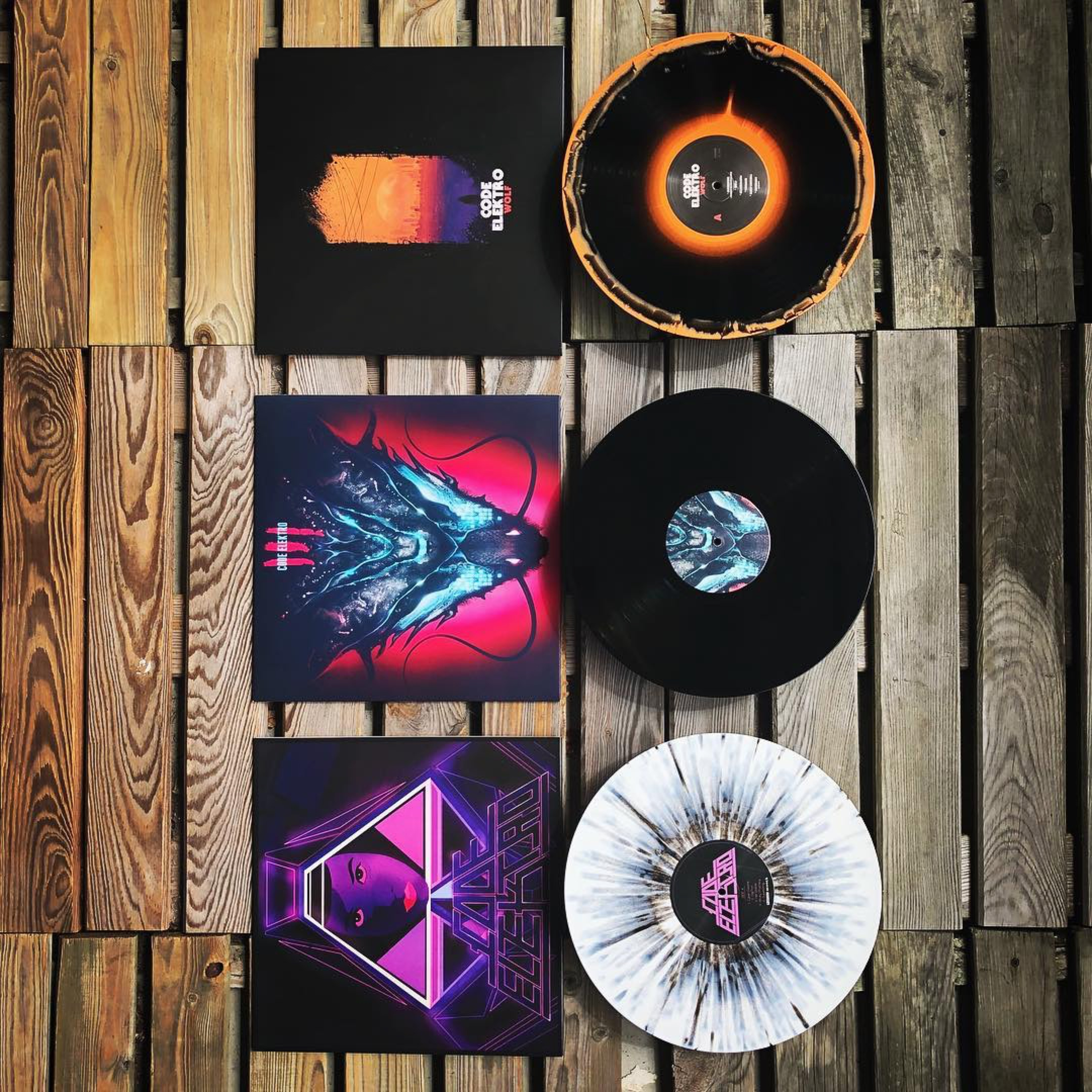 Vinyl bundle:  WOLF, TRIADS, Superstrings