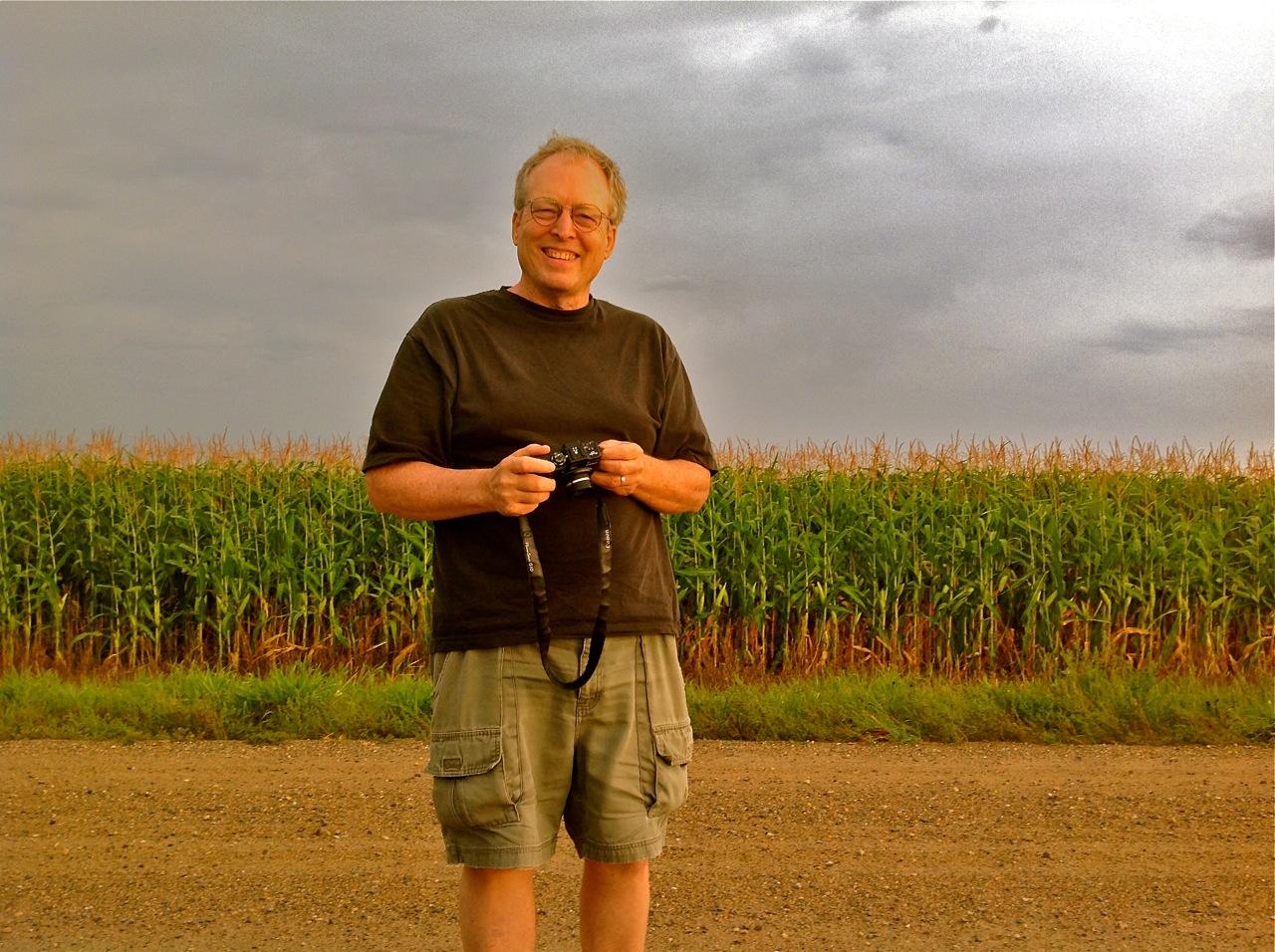 IMG_2565 Mike Hazard Osakis corn field by Tressa Sularz.jpg