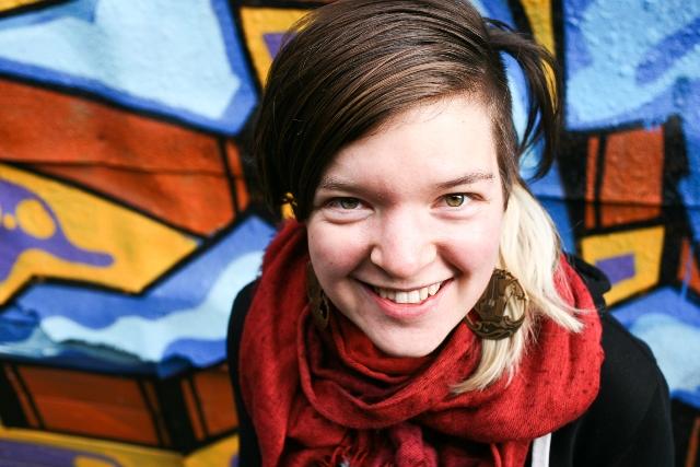 Writer and Zinester Fiona Avocado