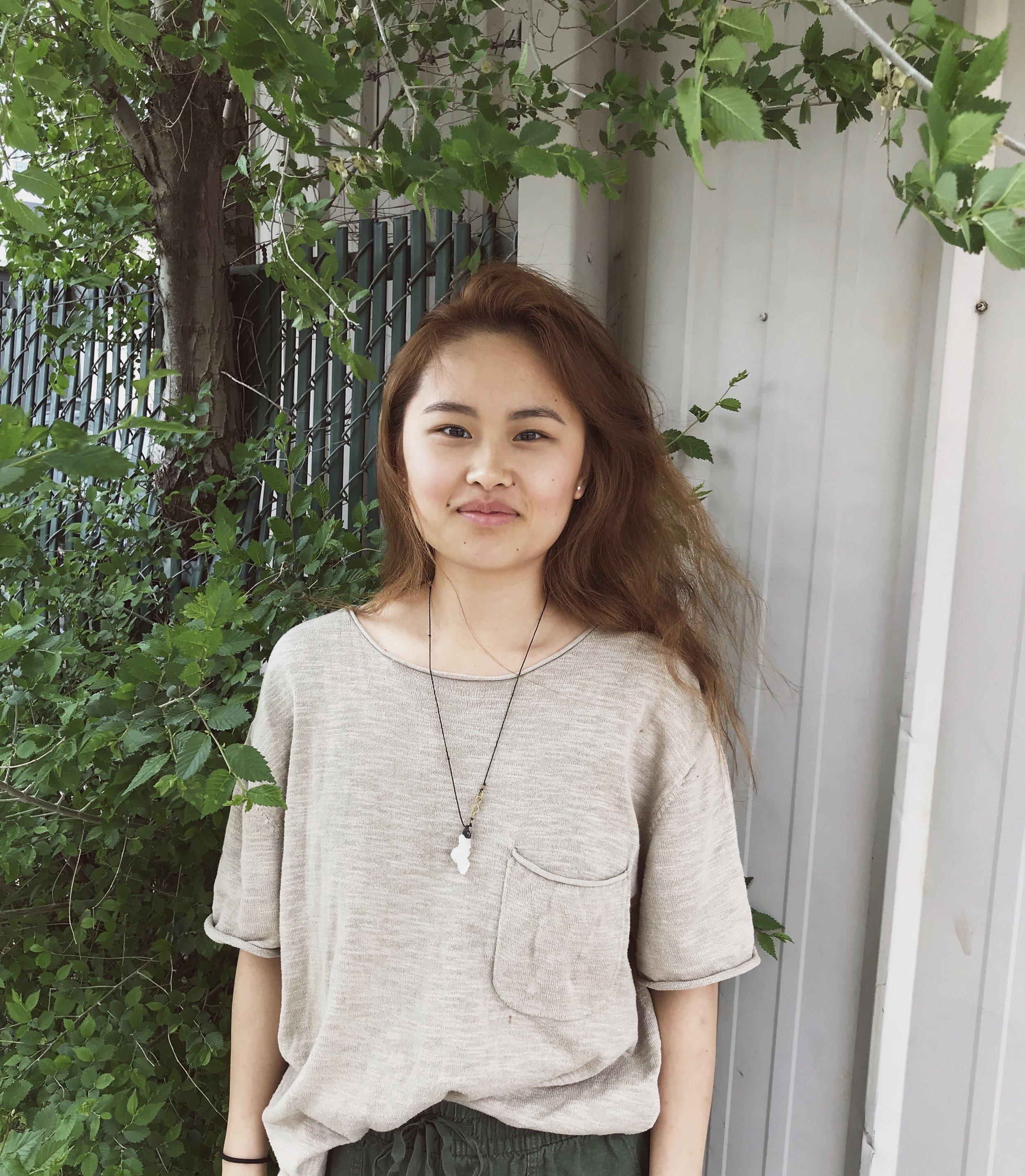 COMPAS summer intern Melissa Moua