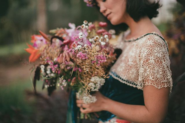 I'm all about the little things in life. Vintage hand crochet lace and picked flowers from the garden are the details that melt my heart. Flowers: @waiakoa.wildflowers  Muse: @lilmauimami
