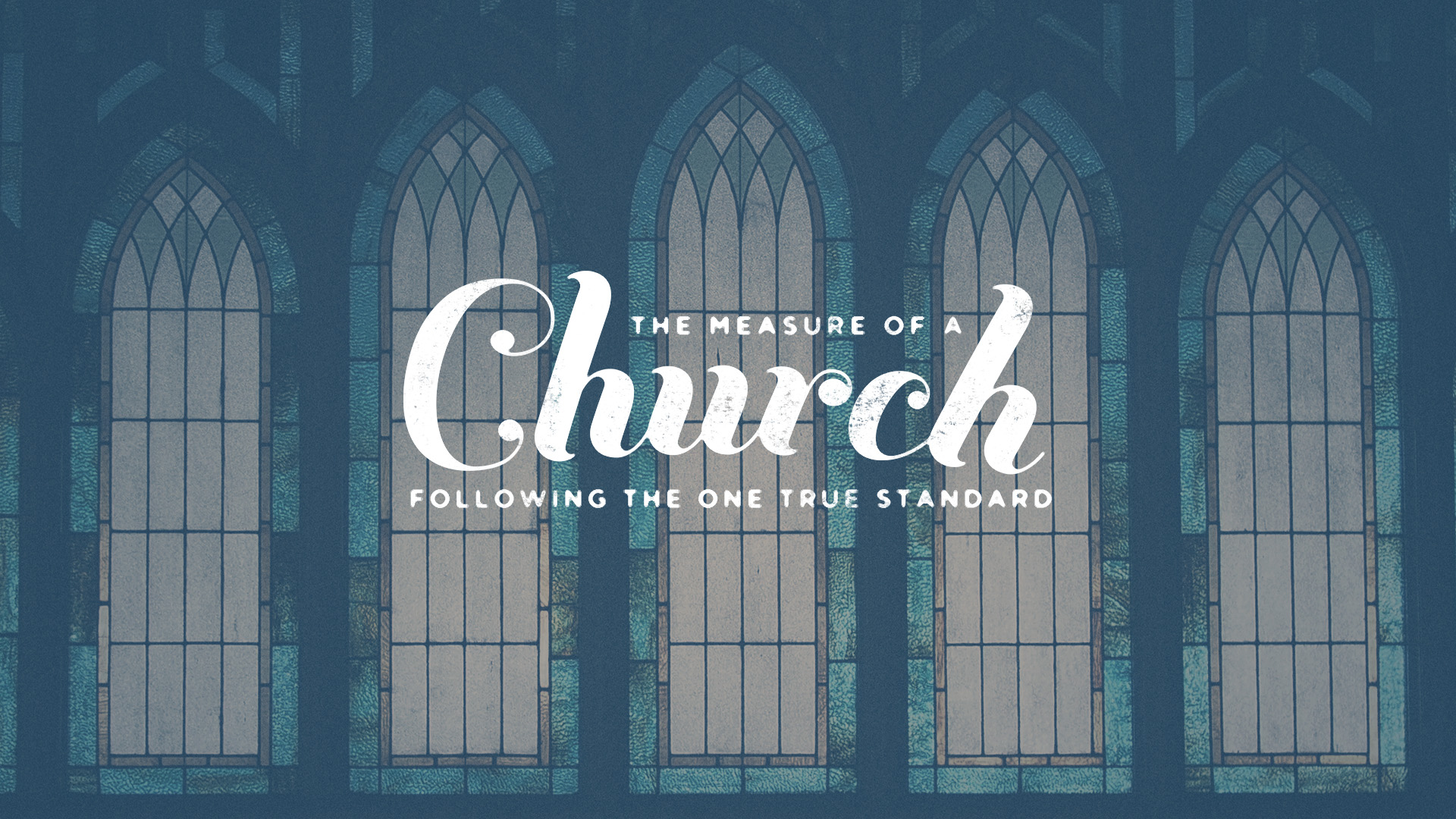 The Measure of a Church (2019)