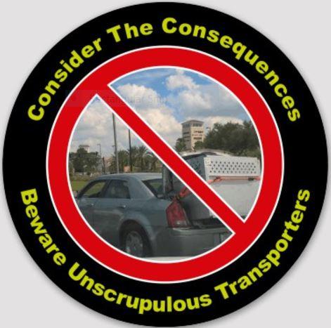 Beware Unsrupulous Transporter.JPG