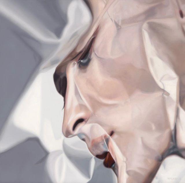 """Bull"" 30x30 in #oiloncanvas #painting #art #portrait #walworthstudio"