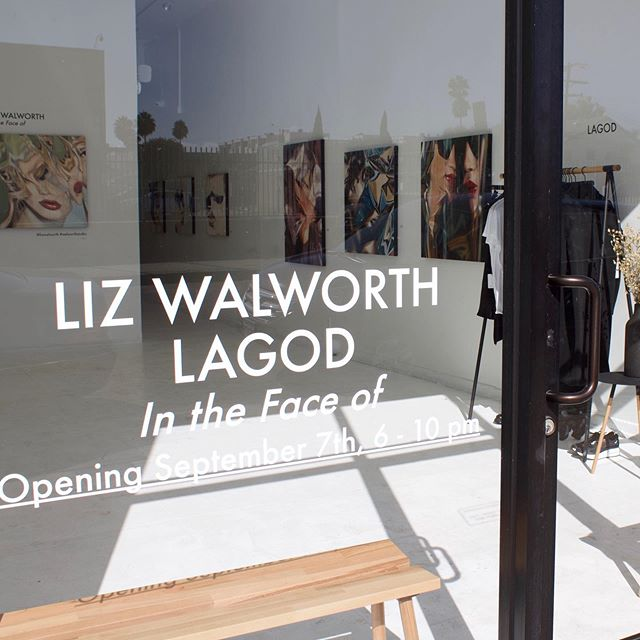 Thank you to everyone who came to the show this past weekend! What an incredible night 🥂 #walworthstudio #thisislagod