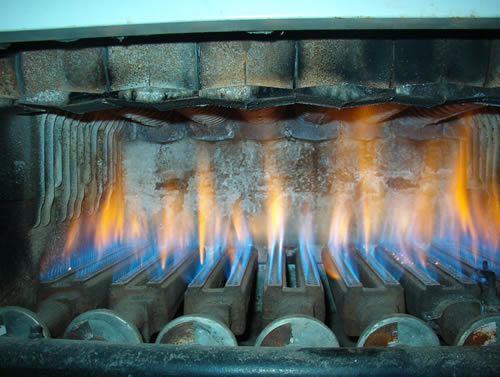 Boilers need maintenance at a minimum annually.  If not rapid deterioration could occur..