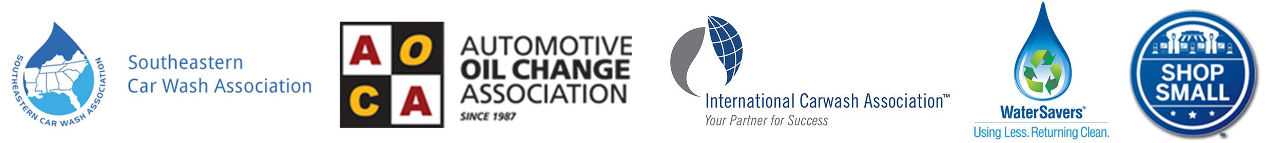 Pronto Car Wash Association Logos