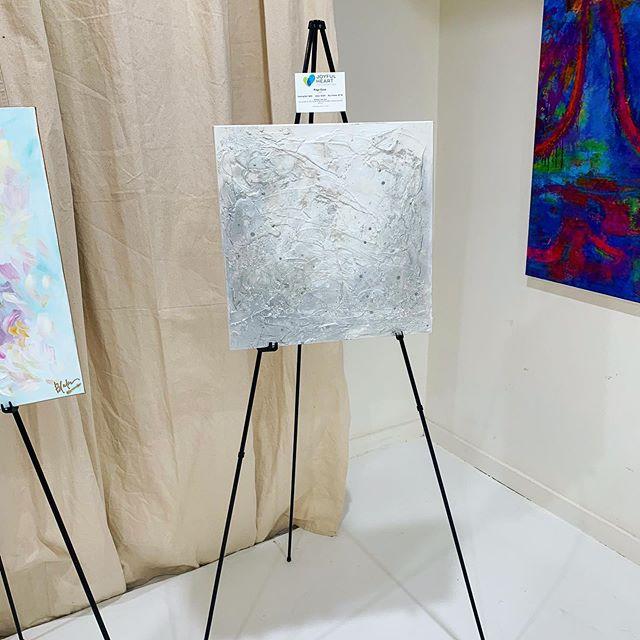 Loved being a part of @art4joydallas beautiful event benefitting @thejhf and @thegenjoy ✨🖼✨#joyfulheart #joyfulheartgala #silentauction 📸 @thomtonybelly . . . . . . . . . . .  #local #followyournola #nolaartist  #gallery #artgallery #mixedmedia #painting #photooftheday #neworleansart #gallery #dallasart #dallasartist #modern #gallerylife #pgart  #localart #magazinestreet  #localartist #custom #weekendready #gallerywall  #travelingartist #artinstallation #artinstall  #galaryart #artdonation #galadonation