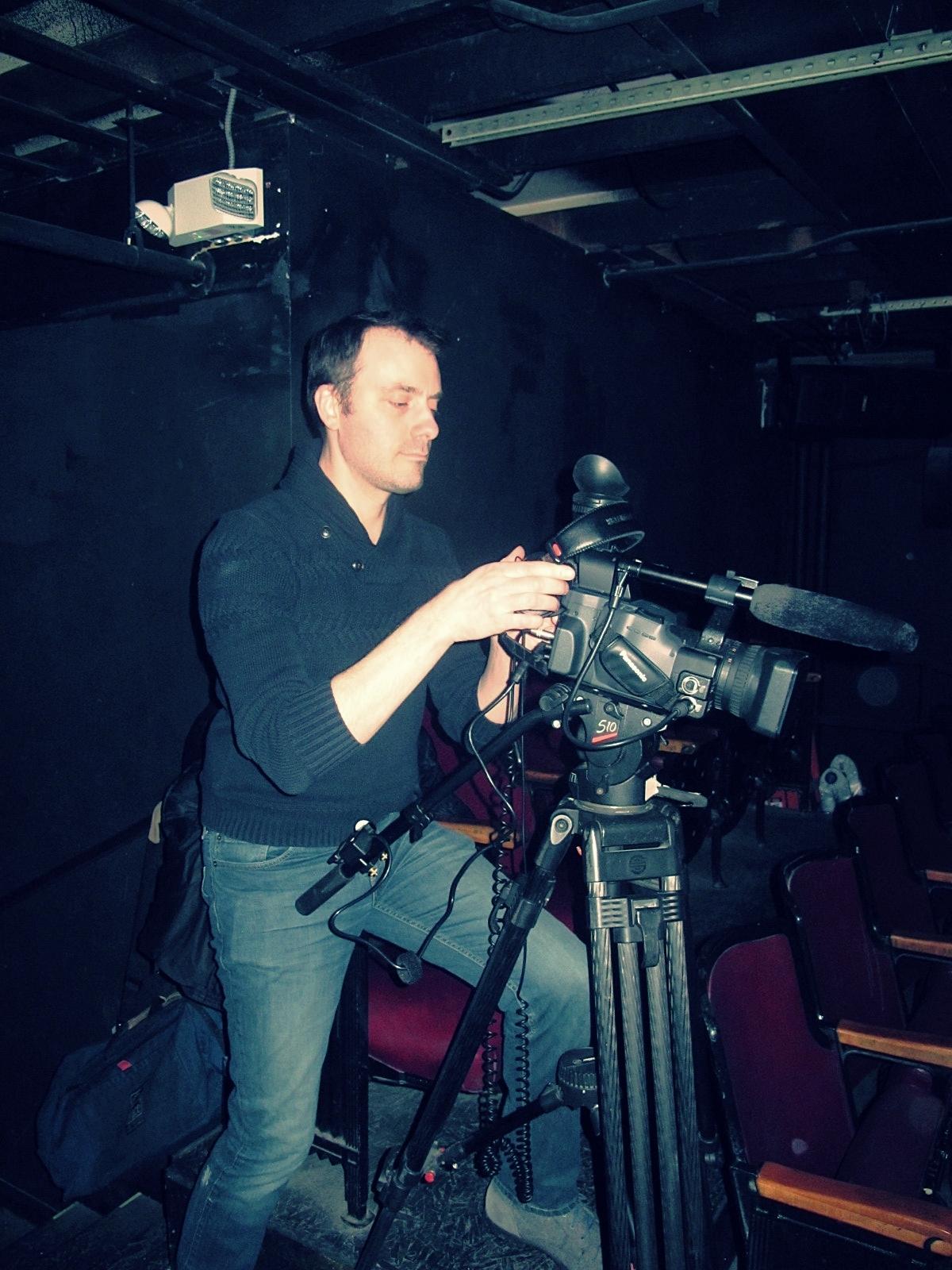 Instructor/Filmmaker David Kossack